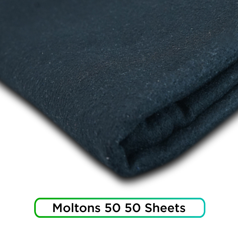 best moltons 50 50 sheets