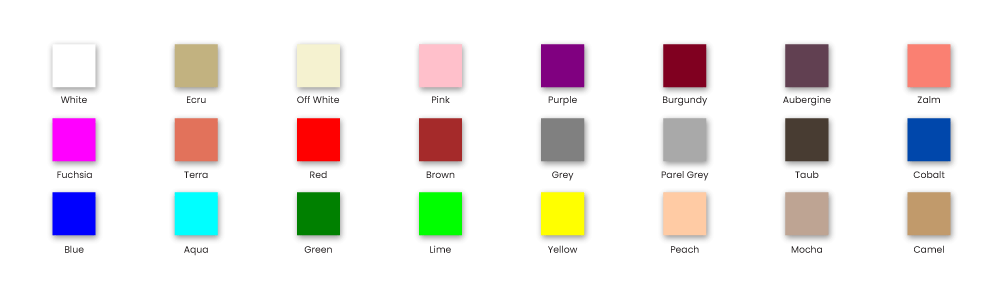 Fitted Sheets Colors