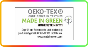Oeko-Tex step made in green-01 (fitted-sheet)