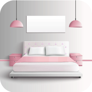 Pink Decorating Bed Sheets