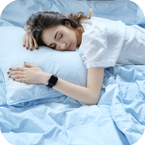 Sleep in Blue Beds Sheets