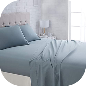 Polyester Fitted Bedsheet Pakistan