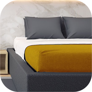 Microfiber Interlock Fitted Bed sheets