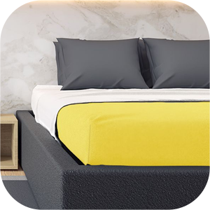 Moltons Polyester Fitted Bed sheets
