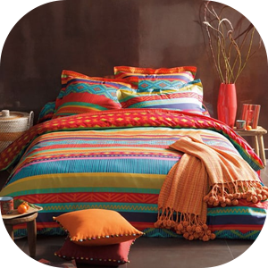Colorful Bed Sheets Pakistan