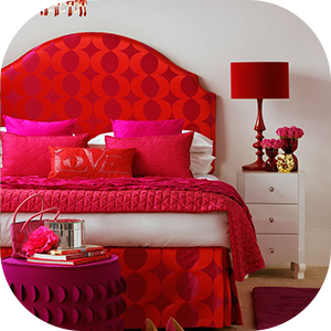 Red Bed Sheets in Pakistan
