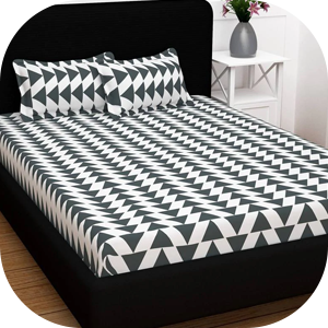 The Patterned Bed Sheets Pakistan