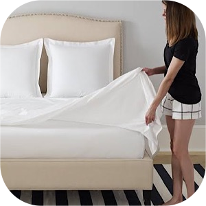White Pillow White Bed Sheets